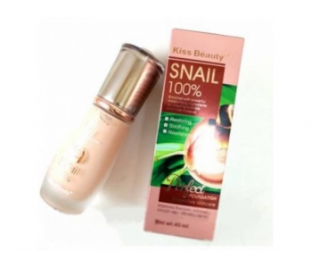 Тональный крем с улиткой Kiss Beauty SNAIL 45 мл