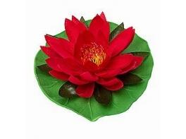 Искусственные водоплавающие цветы Лилии 1 шт