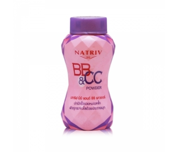 Лечебная пудра BB CC Natriv powder 40 гр