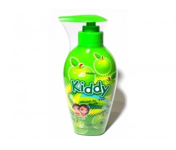 Детский шампунь яблоко без парабенов и силиконов Kiddy Mistine 400 мл