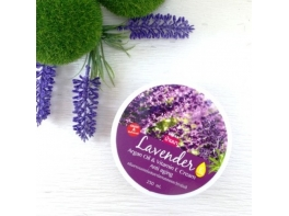 Lavender крем для тела с лавандой Argan Oil & Vitamin E Cream Anti-aging Banna 250 мл