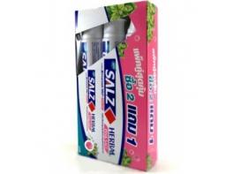 Salz Herbal active зубная паста Гималайская соль набор 3 штуки по 160 гр