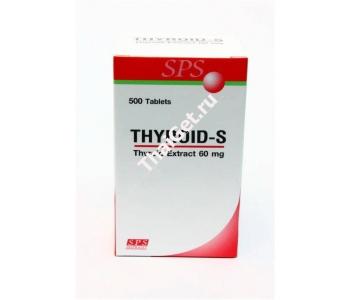 Thyroid-S экстракт щитовидной железы Тироид S 500 шт