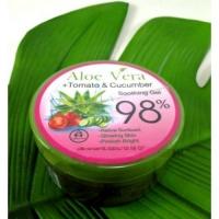 Aloe Vera + Tomato & Cucumber soothing gel 98% гель для лица и тела 300 мл