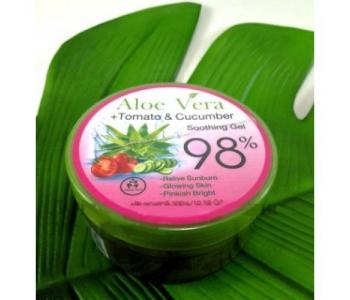 Aloe Vera + Tomato & Cucumber soothing gel 98% гель для лица и тела 300 мл – инструкция по применению
