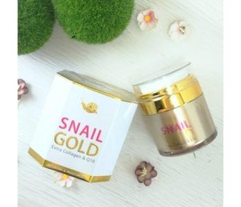 Snail Gold Extra Collagen & Q10 омолаживающий крем 50 гр