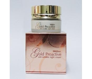 Gold Proactive ночной крем против морщин 30 гр