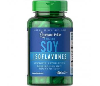 Soy Isoflavones фитоэстрогены для лечения климакса 750 мг 120 шт