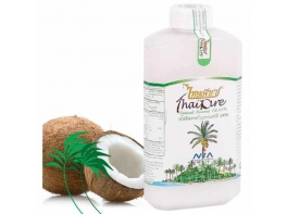 100% натуральное кокосовое холодного отжима 500 мл масло для тела