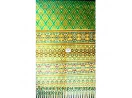 Простынь зеленая для массажных столов тайский стиль 2 м
