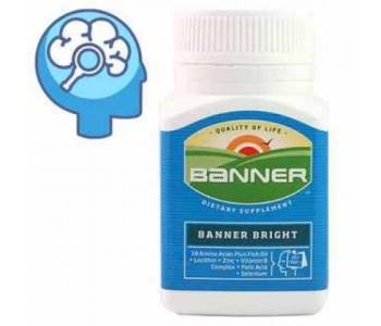 Banner Bright витамины для ума 30 шт