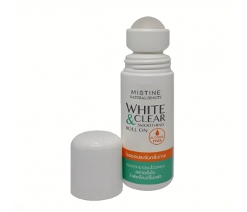 White & Clear Smoothing Roll On роликовый дезодорант с отбеливающим эффектом 50 мл