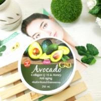 Крем омолаживающий для тела с авокадо Avocado Collagen Q10 & Honey Anti-aging 250 мл