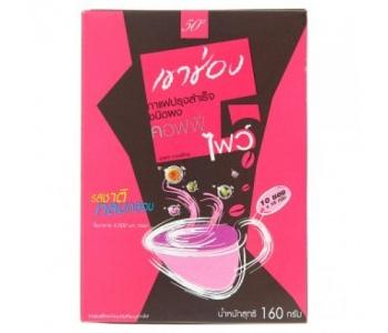 Тайский кофе растворимый Khao Shong Coffee Five 10 шт по 16 гр
