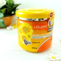 Питательная маска для волос Lolane Hair Treatment с экстрактом подсолнечника 250мл