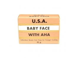 Омолаживающее мыло Baby Face Soap with AHA 50 гр