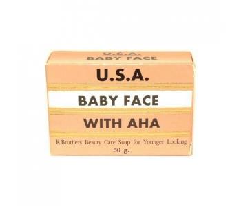 Baby Face Soap with AHA омолаживающее мыло 50 гр