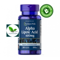 Alpha Lipoic Acid Альфа Липоевая кислота Puritans Pride 300mg