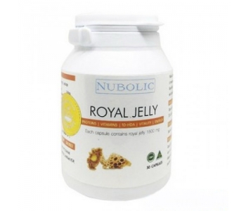 Royal Jelly маточное молочко таблетки Nubolic 1500 мг. 30 капсул