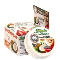 5STAR4A Herbal toothpaste coconut кокосовая зубная паста 25 г
