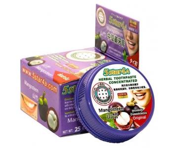 5Star4a Herbal toothpaste mangosteen зубная паста Мангостин 25 г