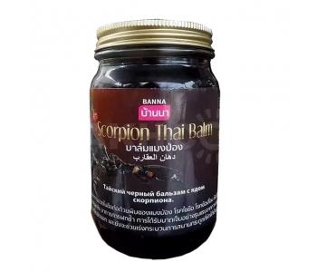 Scorpion Thai Balm Banna тайский черный бальзам с ядом скорпиона 50 г