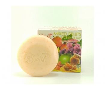 Натуральное тайское мыло Фруктовый Микс Soft7 120 гр