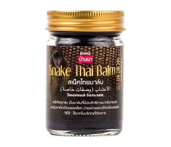 Snake Thai Balm Banna тайский змеиный бальзам 50 гр