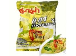 Mama Chicken Green Curry тайская лапша зеленый карри и курица