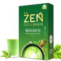 Zen Collagen Matcha Green Tea вкусный и полезный напиток 5 шт