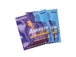 Amogin от боли в желудке и изжоги 4 таблетки