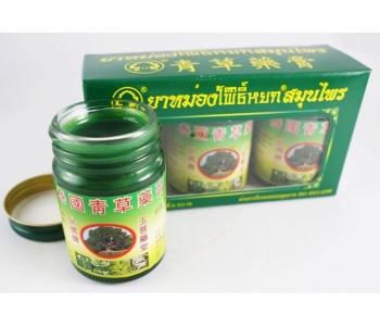 Набор зеленых лечебных бальзамов на травах от простуды Thai Herbal Balms Pho