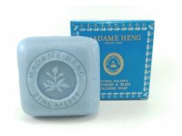Flourish blue натуральное мыло для нежной кожи лица и рук Madame Heng 150 гр