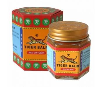 Красный тигровый бальзам из Тайланда Tiger Balm 30 гр