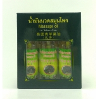 Massage Oil массажный бальзам Thai Herbal Oil Pho набор 150 мл