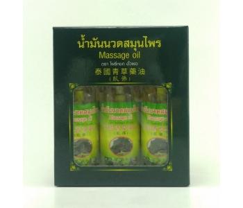 Massage Oil массажный бальзам Thai Herbal Oil Pho набор 150 мл