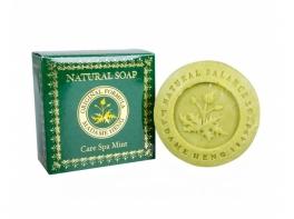 Мыло тайское травяное с ароматом мяты Care Spa Mint Madame Heng 150 гр.