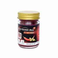 Red Herbs Balm Hot Balm красный бальзам с перцем и мятой 50 гр