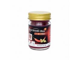Red Colour Herbs Balm красный бальзам с перцем и мятой 50 гр
