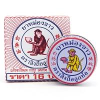 Тайский бальзам White monkey holding Peach 8 гр
