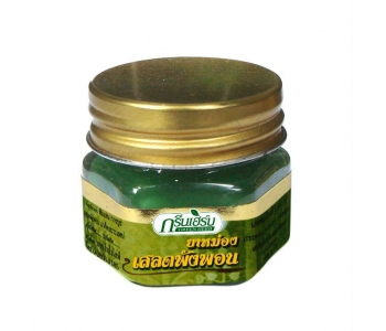 Тайский зеленый бальзам от синяков Green Herb 10 гр