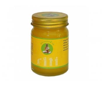 Тайский тигровый желтый бальзам для суставов и массажа 200 гр