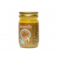 Kongka balm желтый имбирный бальзам тайских целителей для тела 50 гр.