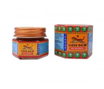 Тайский красный тигровый бальзам Tiger balm red ointment 10 гр