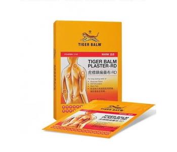 Тигровый пластырь согревающий Tiger balm 2 шт 7х10 см