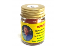 Ya Mong Sud Pai желтый бальзам с лечебным эффектом от тайского травника Я Монг Суд Пай 30 гр