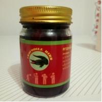 Crocodile Herb крокодиловый черный бальзам натуральное средство при головных болях 100 гр