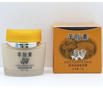 Крем для лица с овечьей плацентой Caimei Sheep Placenta Orange 70 гр