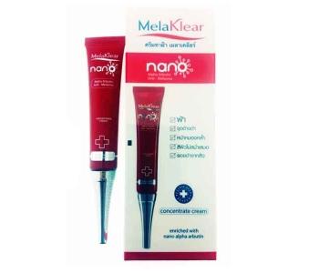 MelaKlear крем для лица отбеливающий от пигментных пятен 10 гр