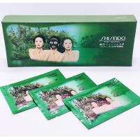 Угольная маска для лица с морскими водорослями Shiseido 15 гр набор 20 шт